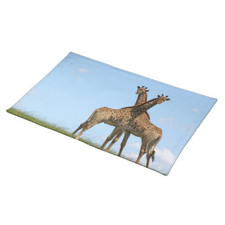 La jirafa hermana Placemat Manteles