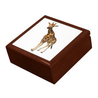 La jirafa joyero cuadrado grande