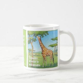 La Jirafa, taza de café Coffee Mug