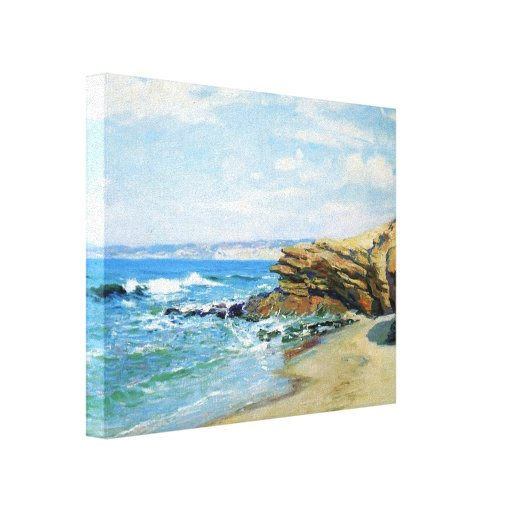 La Jolla Beach by Guy Rose Gallery Wrapped Canvas