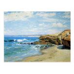 La Jolla Beach by Guy Rose Post Card