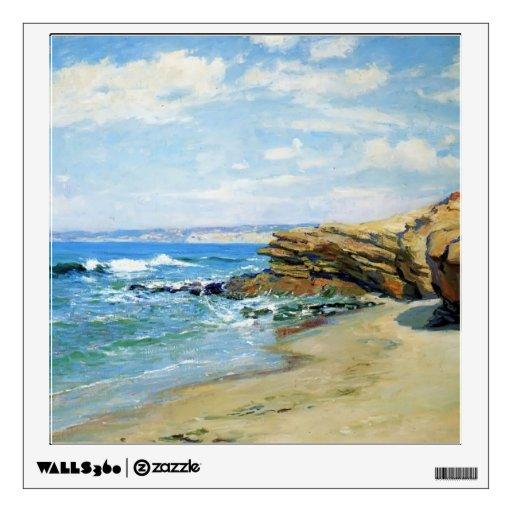 La Jolla Beach by Guy Rose Wall Stickers