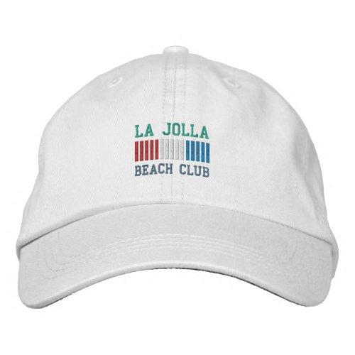LA JOLLA BEACH CLUB cap