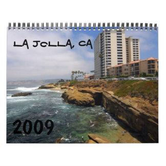 La Jolla, CA Calendario De Pared