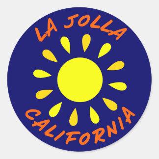 La Jolla, California Classic Round Sticker
