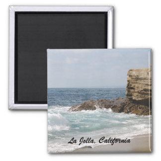 La Jolla, California 2 Inch Square Magnet