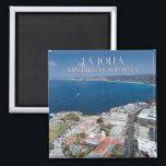 """La Jolla California, USA Magnet<br><div class=""""desc"""">Aerial image of La Jolla,  California.</div>"""