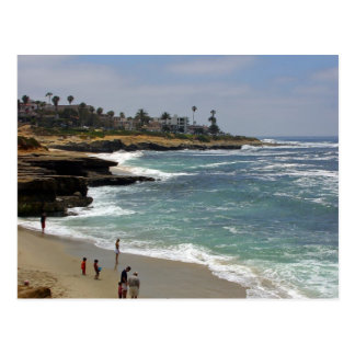 La Jolla Cove Beach Postcard