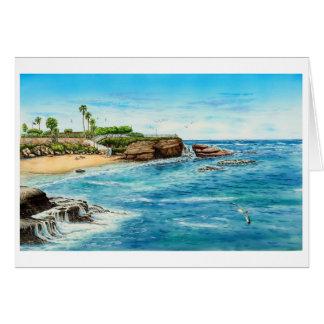 LA JOLLA COVE, LA JOLLA, CALIFORNIA CARD
