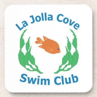La Jolla Cove Swim Club Logo Coasters