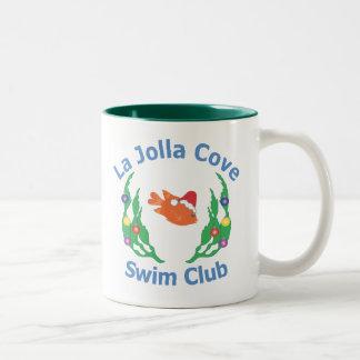 La Jolla Cove Swim Club Santa Mug