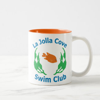 La Jolla Cove Swlm Club Logo Mug