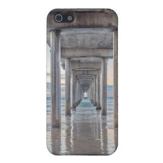 La Jolla, embarcadero de Scripps iPhone 5 Carcasas