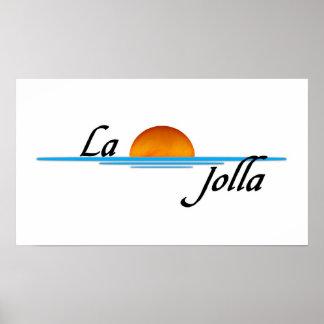 La Jolla Poster
