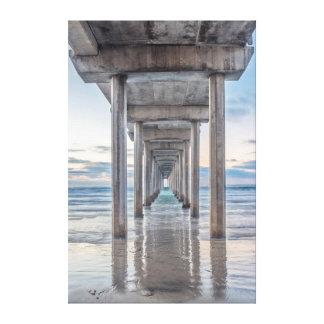 La Jolla, Scripps Pier Canvas Print