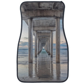 La Jolla, Scripps Pier Car Floor Mat