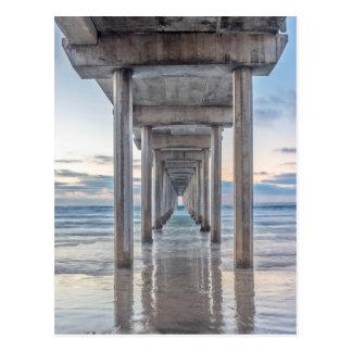 La Jolla, Scripps Pier Postcard