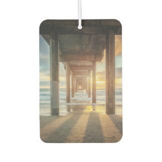 La Jolla, Scripps'S Pier At Sunset | San Diego Air Freshener