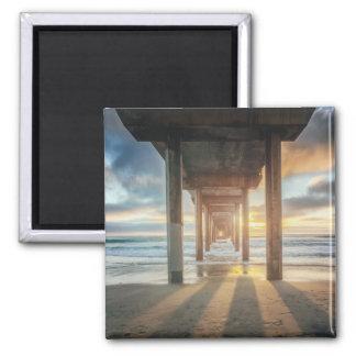 La Jolla, Scripps'S Pier At Sunset | San Diego Magnet