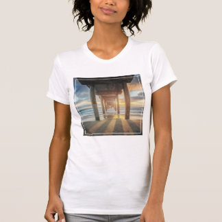 La Jolla, Scripps'S Pier At Sunset   San Diego T-Shirt