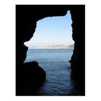 La Jolla Sea Cave Postcard