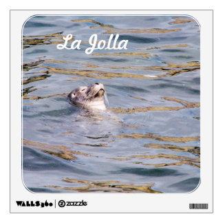La Jolla Seal Wall Stickers