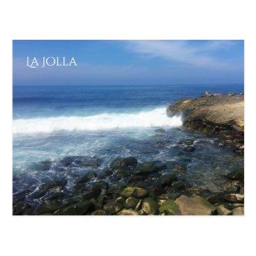 Beach Themed La Jolla Seaside in San Diego Postcard