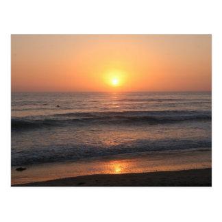 La Jolla Sunset Postcard