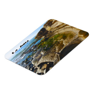 La Jolla ~ Tide Pools, California Rectangular Photo Magnet