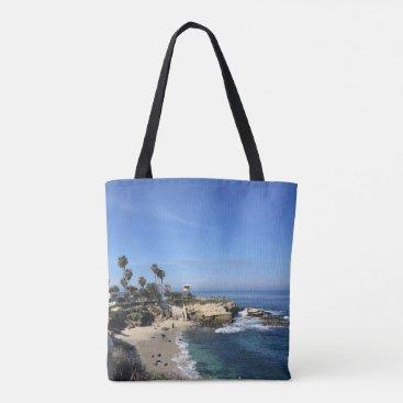 Beach Themed La Jolla Tote Bag