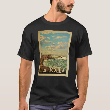 La Jolla Vintage Travel T-shirt
