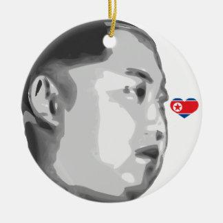 La Jong-O.N.U de Kim Ornamentos De Navidad