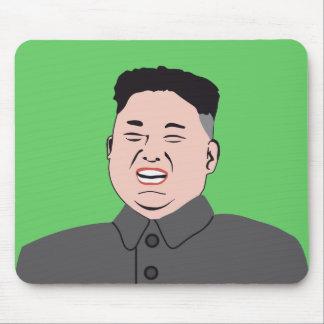 La Jong-O.N.U de risa de Kim Alfombrilla De Ratón