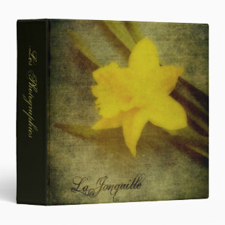 "La Jonquille 1.5"" Photo Album 3 Ring Binder"