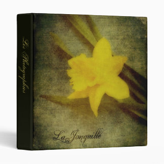 "La Jonquille 1"" Photo Album Binder"