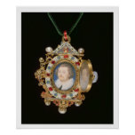 La joya de Gresley, con los retratos miniatura del Posters
