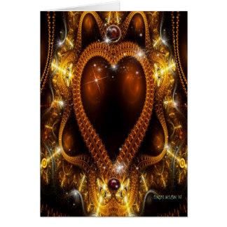 La joya de la reina tarjeta