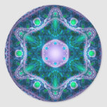 La joya en Lotus Etiqueta Redonda
