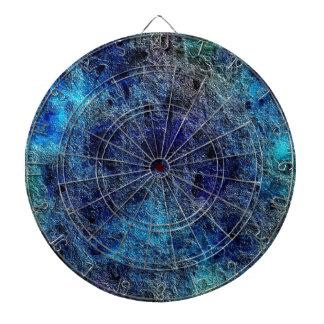 La joya rica profunda abstracta colorea el Dartboa