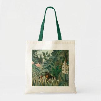 La Jungle ecuatorial, 1909 (aceite en lona) Bolsa Tela Barata