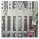 'La junta de comercio de Chicago, Chicago, Illinoi Azulejo