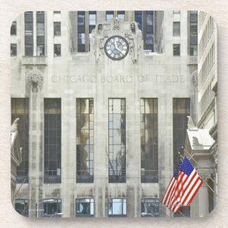 'La junta de comercio de Chicago, Chicago, Illinoi Posavasos
