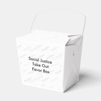 La justicia social saca la caja del favor cajas para regalos de fiestas