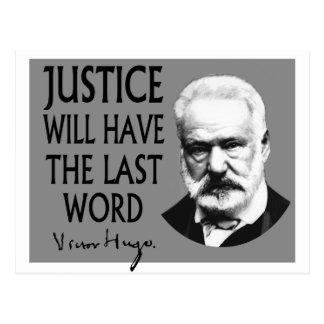 La justicia tendrá la palabra pasada tarjetas postales