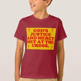 La justicia y la misericordia de dios hechas playera