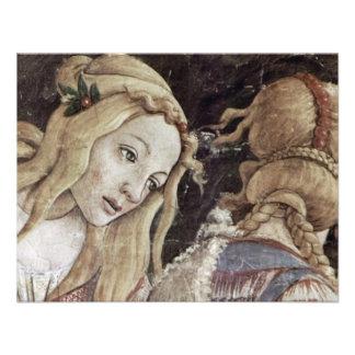 La juventud de Moses detalle de Botticelli Sandro Invitacion Personalizada