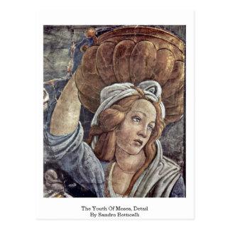 La juventud de Moses, detalle de Sandro Botticelli Postales