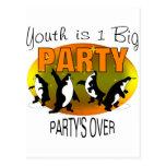 La juventud es 1 fiesta grande postales