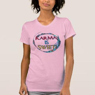 La karma es camisetas sin mangas dulces