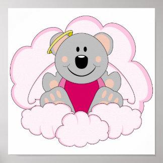 La koala del ángel de la niña de Cutelyn refiere l Poster